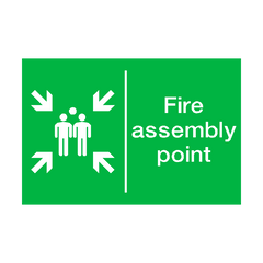 General Fire Assembly Point Sign