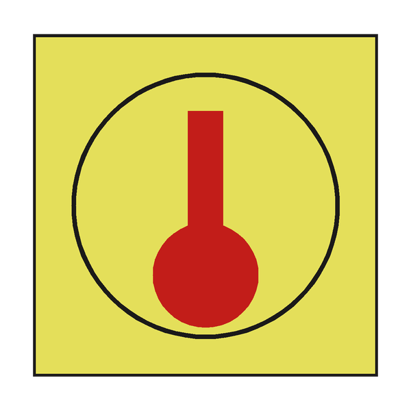 HEAT DETECTOR IMO SAFETY SIGN | PVC Safety Signs