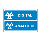 MOT Digital And Analogue Sign