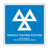 MOT Sign General | PVCSafetySigns.co.uk