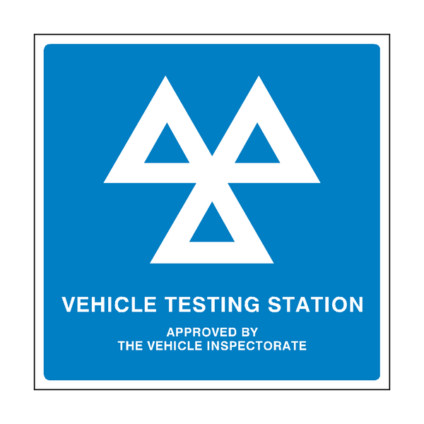 Mot Sign General Pvc Safety Signs