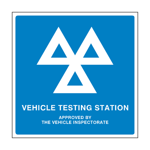 MOT Sign General | PVC Safety Signs | Health and Safety Signs