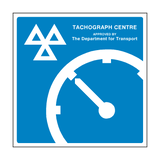 MOT Tachograph Centre Approved Sign | PVC Safety Signs