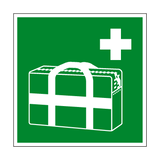 Medical Grab Bag Symbol Sign | PVC Safety Signs