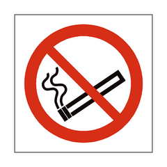 No Smoking Square Safety Sign | PVC Safety Signs | Health and Safety Signs