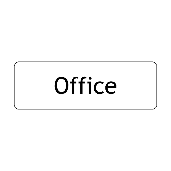Office Door Sign | PVC Safety Signs