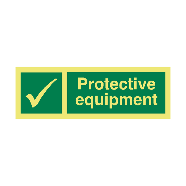 Protective Equipment IMO Sign | PVC Safety Signs