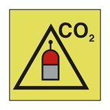 REMOTE RELEASE STATION FOR CO2 SIGN | PVC Safety Signs