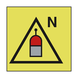 REMOTE RELEASE STATION NITROGEN SIGN