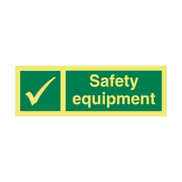 Safety Equipment IMO Sign - PVC Safety Signs