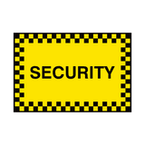 General Security Sign | PVC Safety Signs