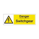 Switchgear Safety Sign | PVCSafetySigns.co.uk