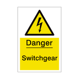 Switchgear Sign | PVCSafetySigns.co.uk
