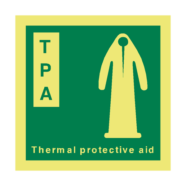 TPA IMO Safety Sign | PVC Safety Signs