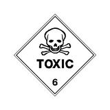 Toxic Sign | PVC Safety Signs | Health and Safety Signs