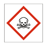 Toxic COSHH Sign | PVC Safety Signs