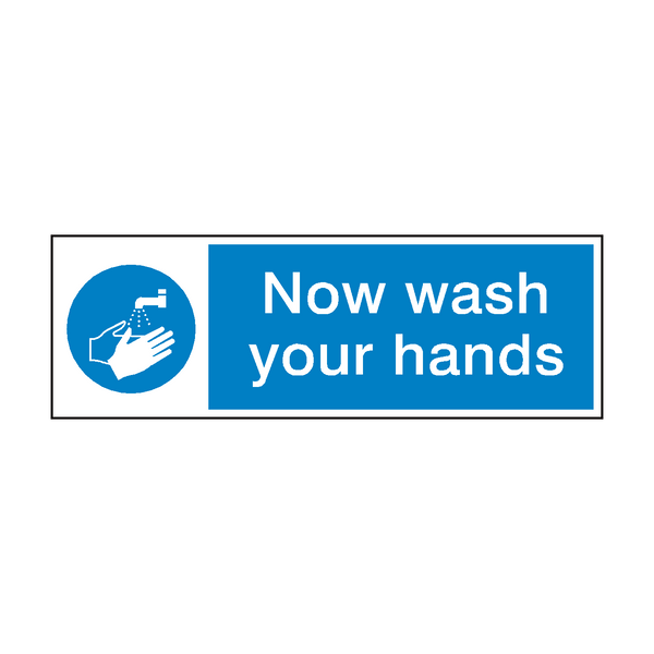 Wash Your Hands Sign | PVC Safety Signs