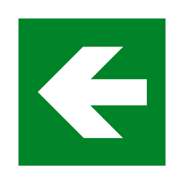 Arrow Left Sign | PVC Safety Signs