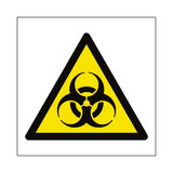 Biological Hazard Symbol Sign - PVC Safety Signs