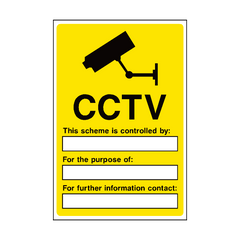 CCTV Warning Signs Legislation