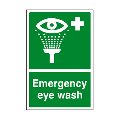 Eyewash Sign | PVC Safety Signs | Health and Safety Signs