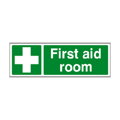 First Aid Room Sign | PVC Safety Signs | Health and Safety Signs