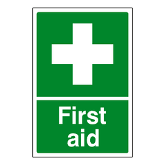 First Aid Sign | PVC Safety Signs | Health and Safety Signs