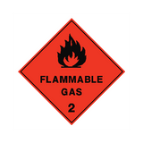 Flammable Gas Sign | PVC Safety Signs | Health and Safety Signs
