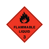 Flammable Liquid Sign | PVC Safety Signs | Health and Safety Signs