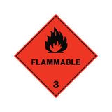 Flammable Sign | PVC Safety Signs | Health and Safety Signs