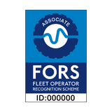 FORS Associate Sign | PVCSafetySigns.co.uk
