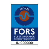 FORS Bronze Sign | PVCSafetySigns.co.uk