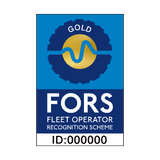 FORS Gold Sign | PVCSafetySigns.co.uk
