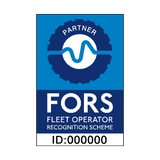FORS Partner Sign | PVCSafetySigns.co.uk