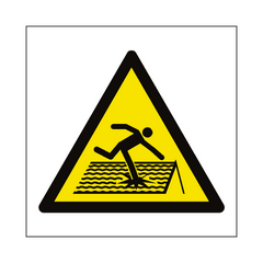 Fragile Roof Hazard Symbol Sign | PVC Safety Signs | Health and Safety Signs