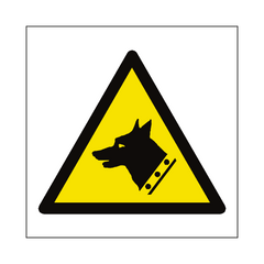 Guard Dog Hazard Symbol Sign | PVC Safety Signs | Health and Safety Signs