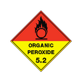 Organic Peroxide Sign | PVC Safety Signs | Health and Safety Signs
