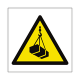 Overhead Load Hazard Symbol Sign | PVC Safety Signs