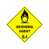 Oxidising Agent Sign | PVC Safety Signs | Health and Safety Signs