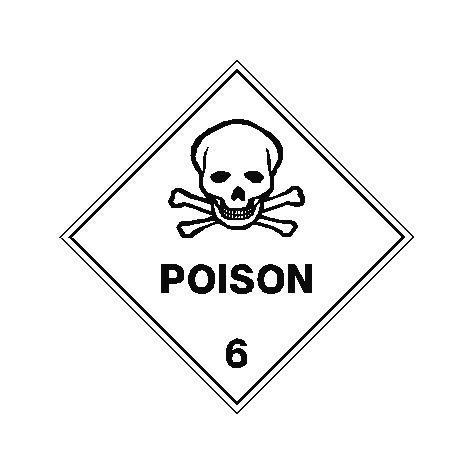 Poison Sign | PVC Safety Signs