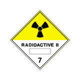 Radioactive II Sign | PVC Safety Signs | Health and Safety Signs