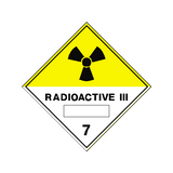 Radioactive III Sign | PVC Safety Signs | Health and Safety Signs