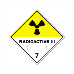 Radioactive III Sign