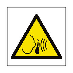 Sudden Loud Noise Symbol Sign | PVC Safety Signs | Health and Safety Signs