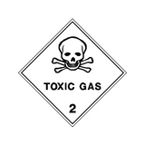 Toxic Gas Sign | PVC Safety Signs | Health and Safety Signs