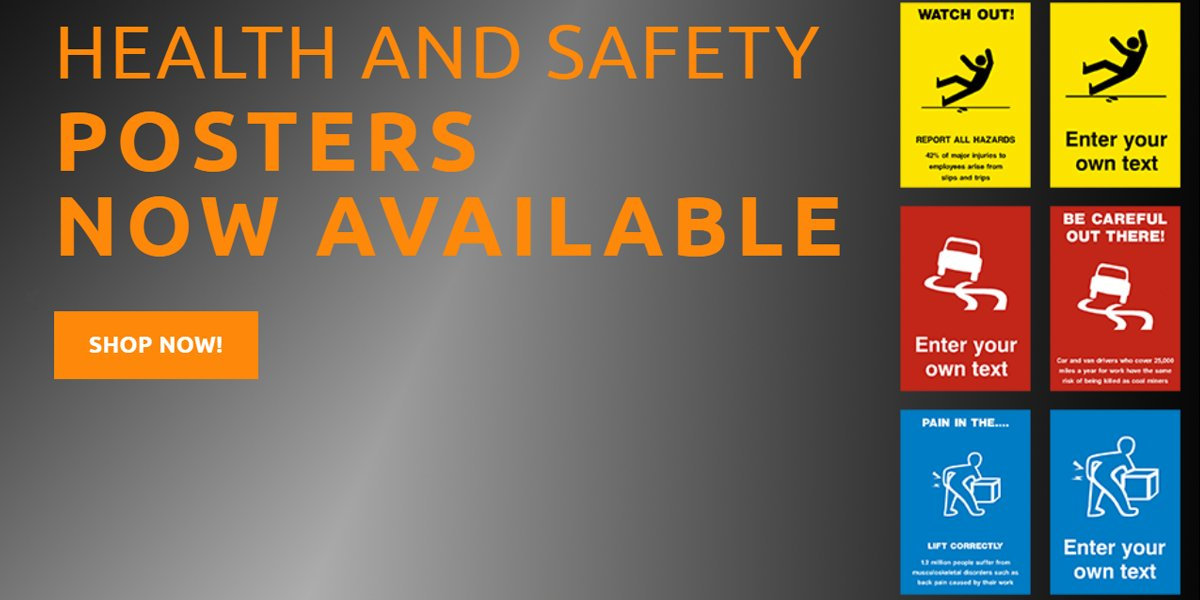 Safety Posters Now Available