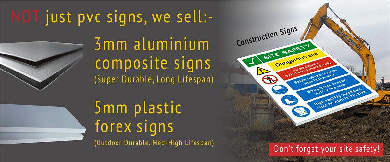 PVC Safety Signs | Safety Signs Specialists