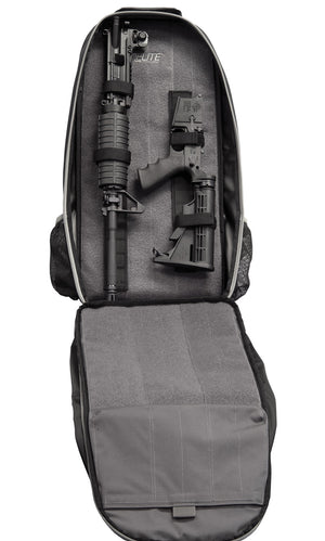STEALTH - Covert Operations Rifle Backpack rifle compartment with tie down system for rifle