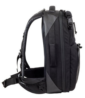 Stealth SBR backpack with side handles, top handle, and backpack straps for versatile carry