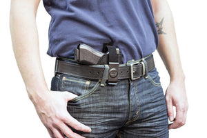 Inside the Pant Clip Holster